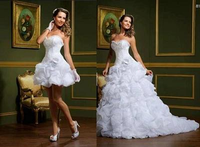 Vestidos para casamento, de todos os tamanhos!